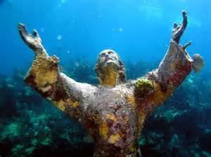 Underwater Christ
