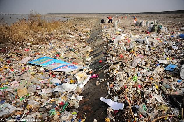 Yangtze River trash