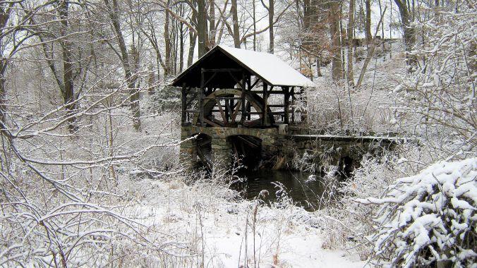 Abandoned mill, Monroe, NY