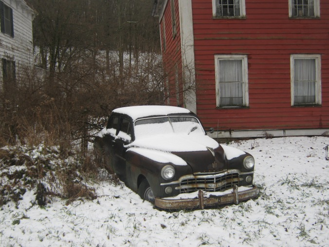 Old car, Middlefield,NY