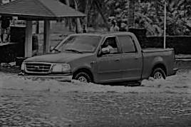 Samoan pickup truck