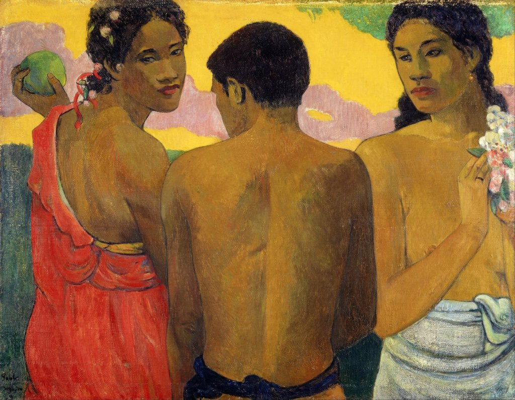 Three-Tahitians